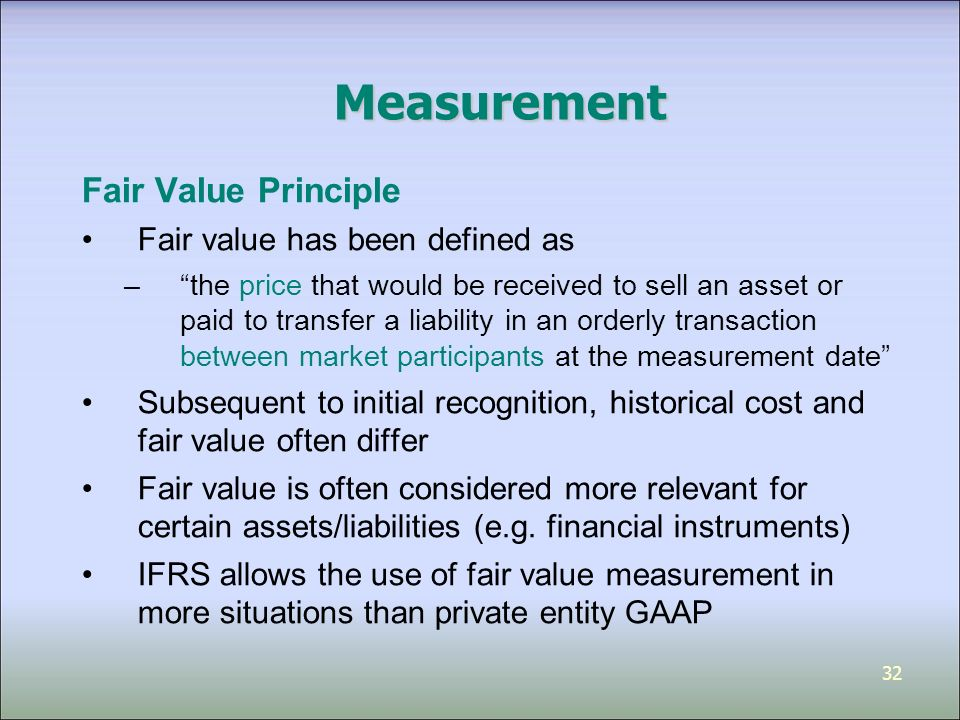 historical cost vs fair value