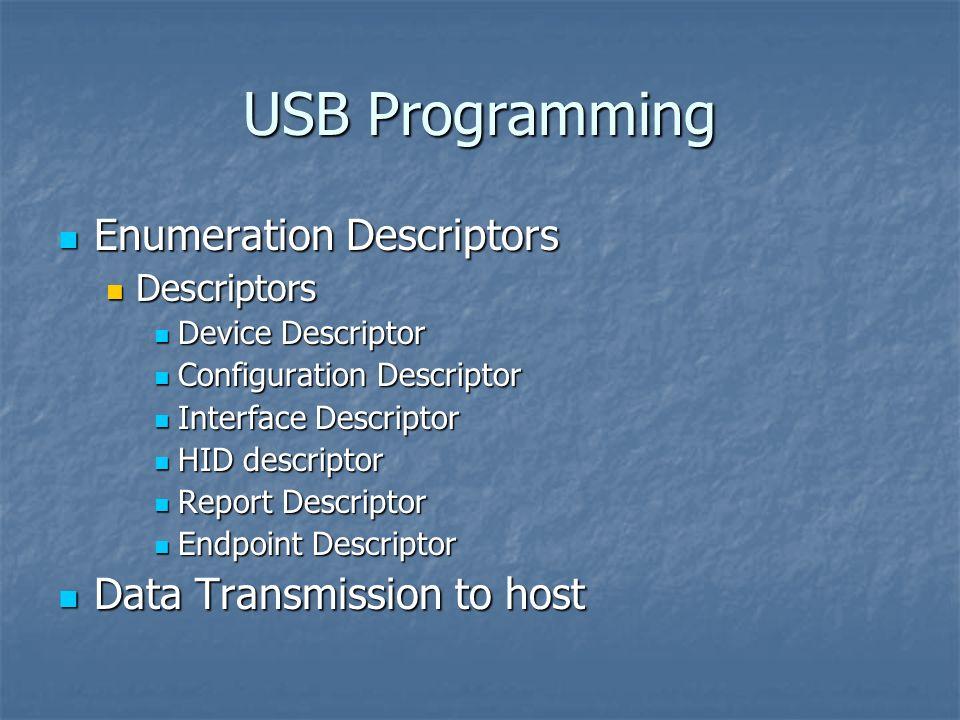 USB Protocol CET 316 By John C  Johnston  USB Programming