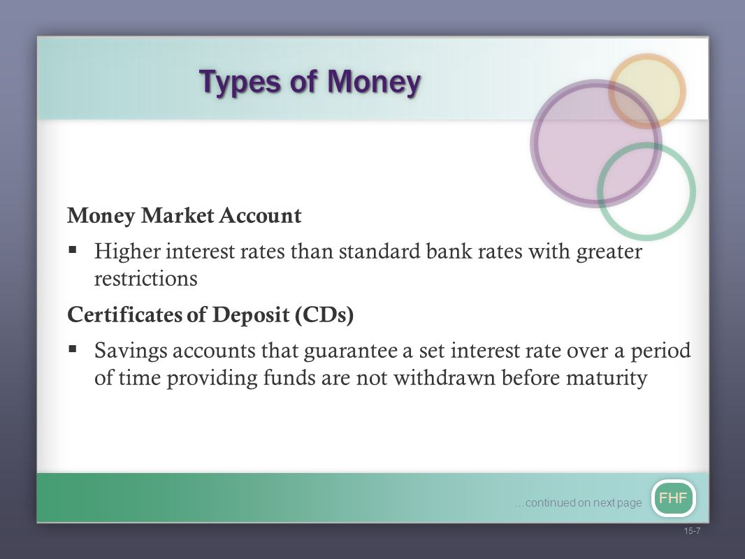 CHAPTER 15 Money and the Financial System FHF 15-2 CHAPTER 14 Accounting  and Financial Statements CHAPTER 16 Financial Management and Securities  Markets. - ppt download