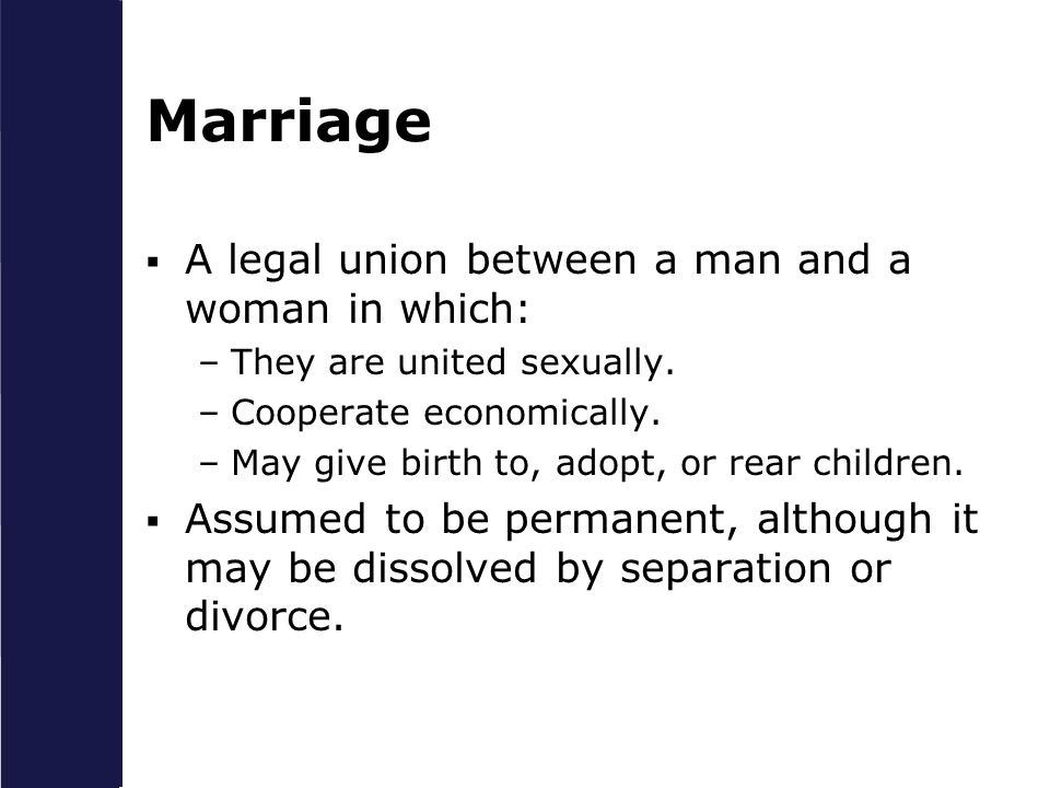 chapter 1 the meaning of marriage and the family ppt download