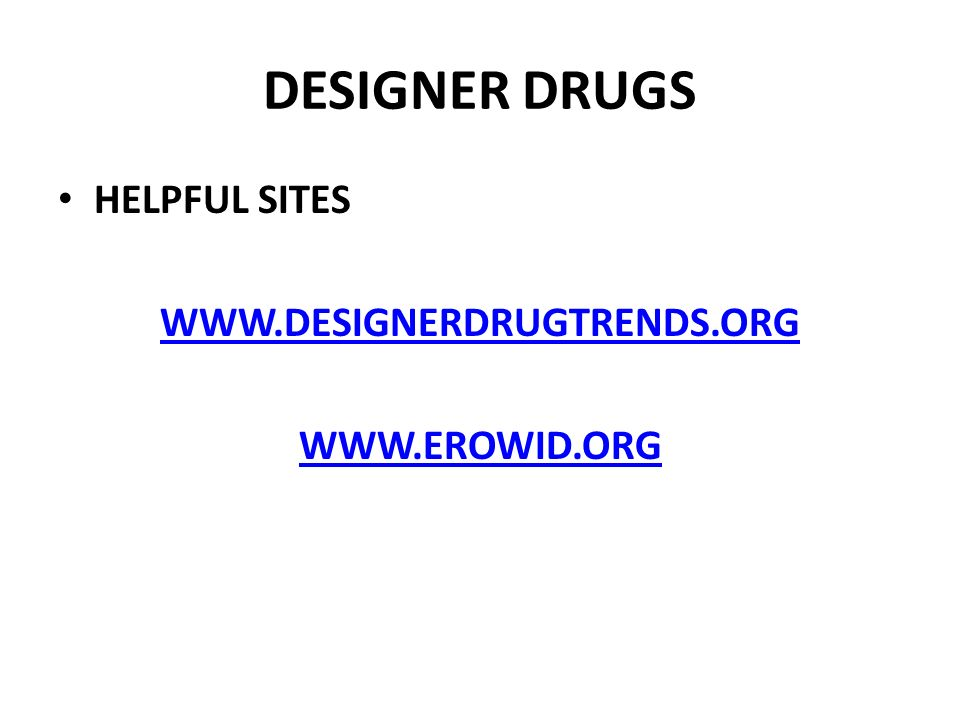 MIND ALTERING DRUGS MIND ALTERING… SYNTHETIC (DESIGNER) AND