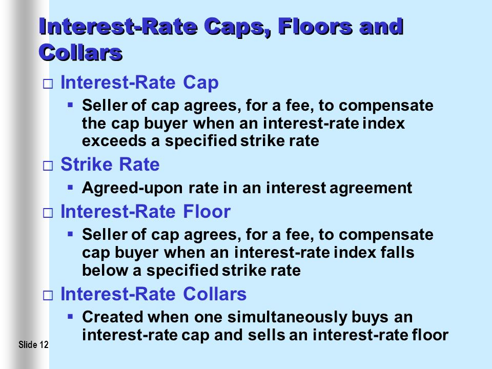 Asset Backed Securities Interest Rate Agreements And Currency