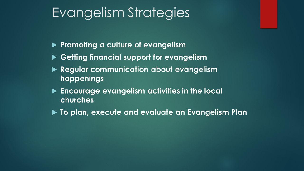 EVANGELISM ORIENTATION WORKSHOP 2013 CENTRAL CONFERENCE EVANGELISM