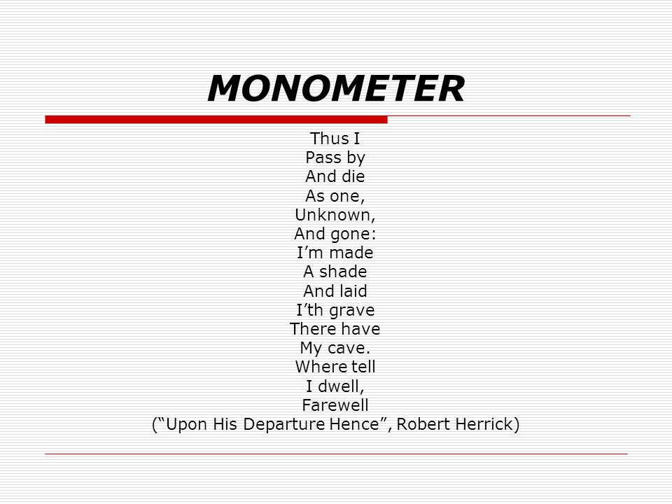 Poetry Metre And Rhyme Lo To Identify Structural Elements Applied In Poetry Ppt Download