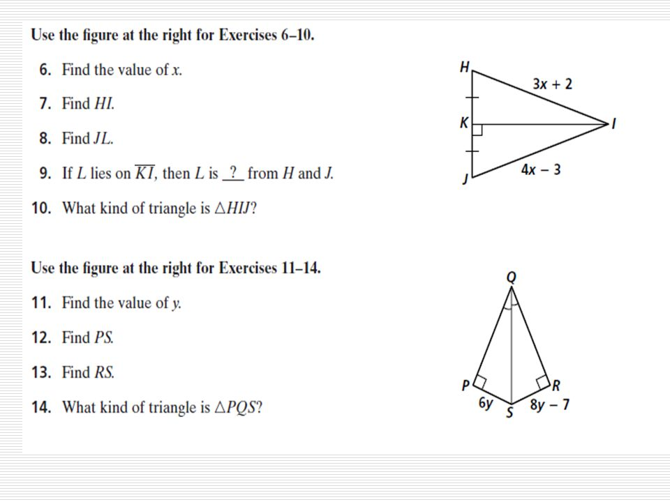 5 3 practice bisectors in triangles Section 5-3: Concurrent Lines, Medians, and Altitudes March 6, ppt ...