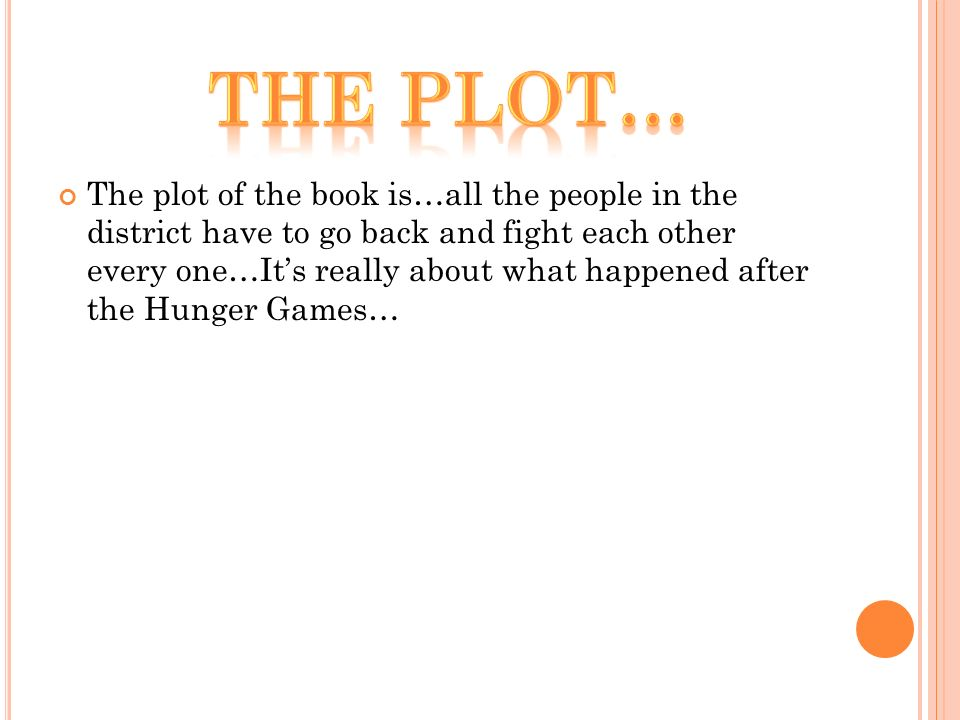 hunger games second book plot