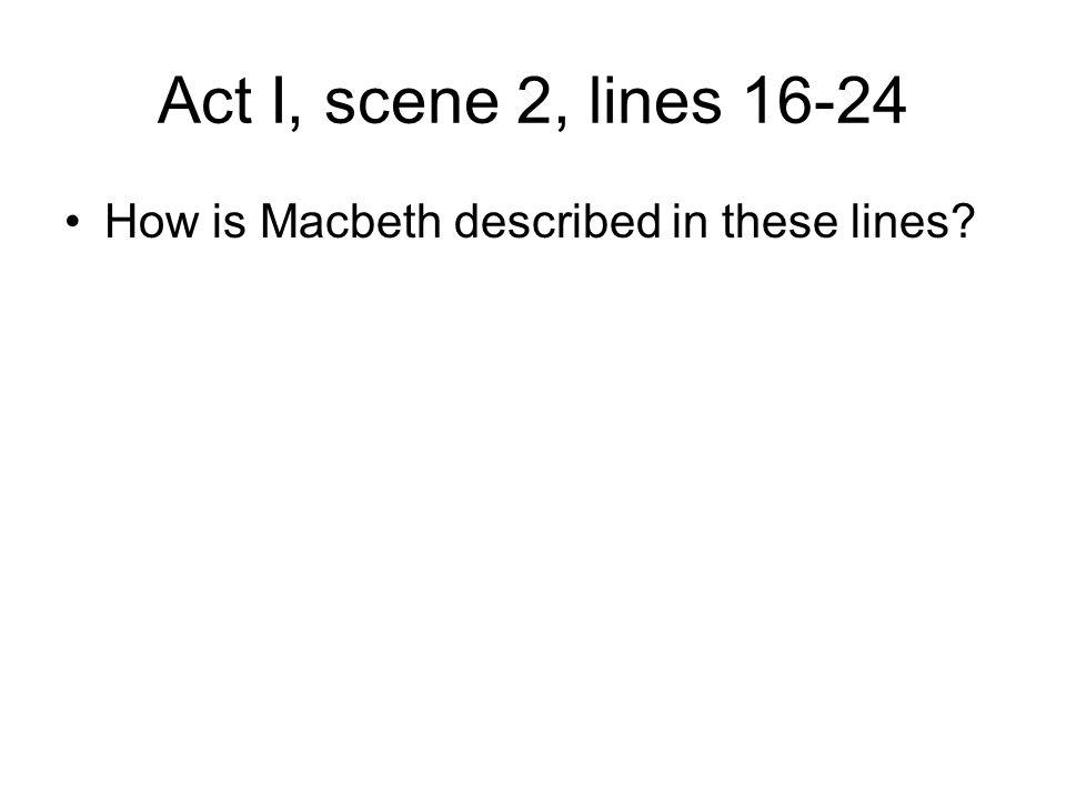 how is macbeth described