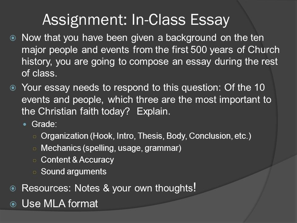 church history essay An example of an a paper - history 451 this paper earned an a because it not only responds in a clear and organized way to the assignment—discuss the limits roger williams, william penn, and the maryland assembly may.