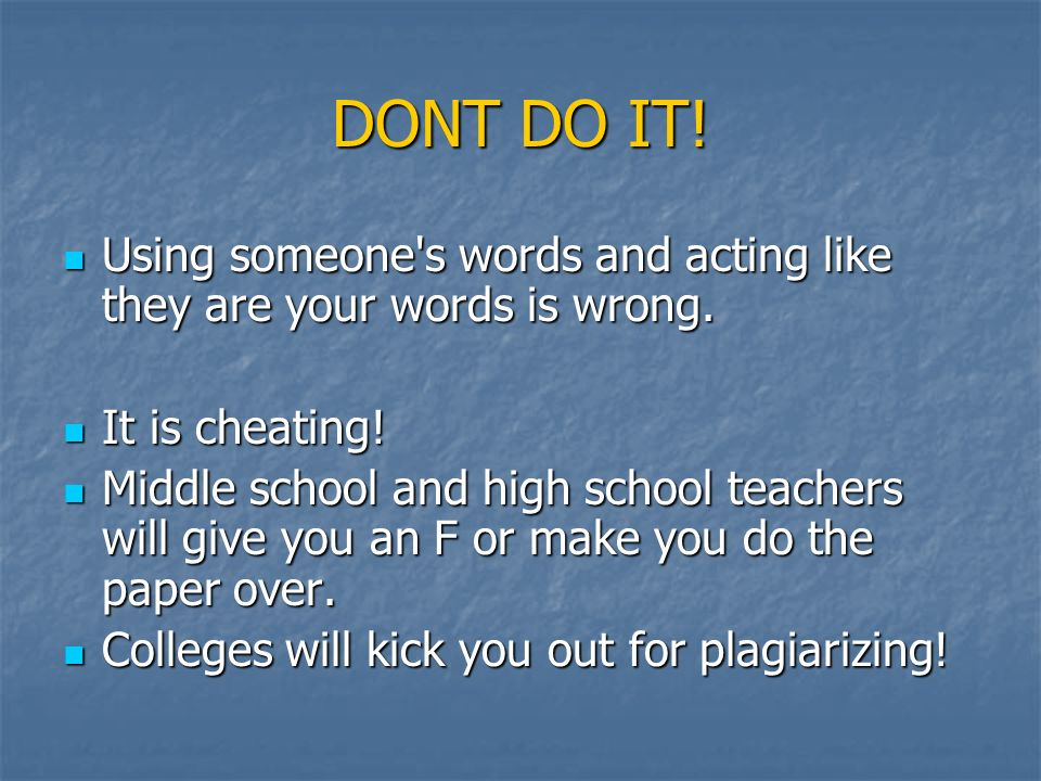 What is plagiarism? Get with a partner Get with a partner
