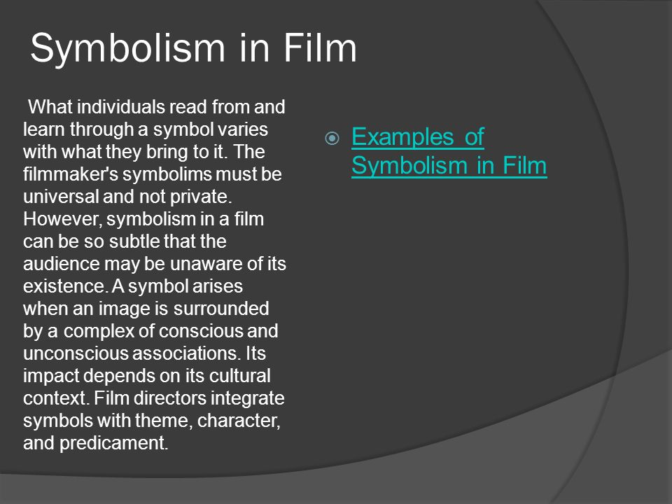 A Film Is Difficult To Explain Because It Is Easy To Understand