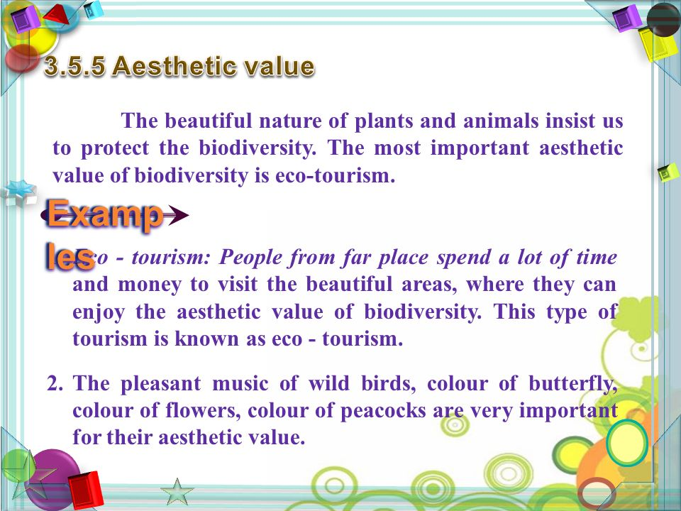 The beautiful nature of plants and animals insist us to protect the biodiversity.