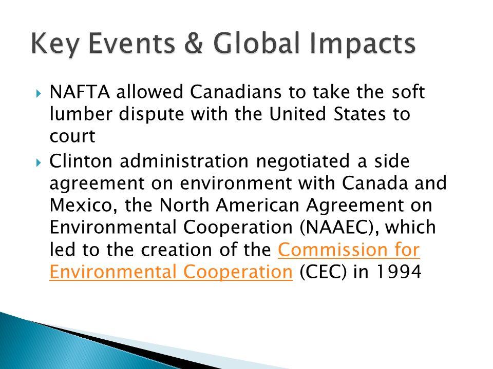 North American Free Trade Agreement Nafta Was Established On