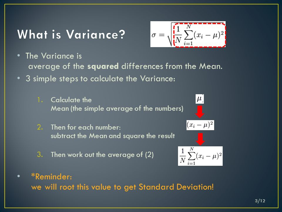 Luka Petrovi 692012 112 The Standard Deviation Is A Measure Of