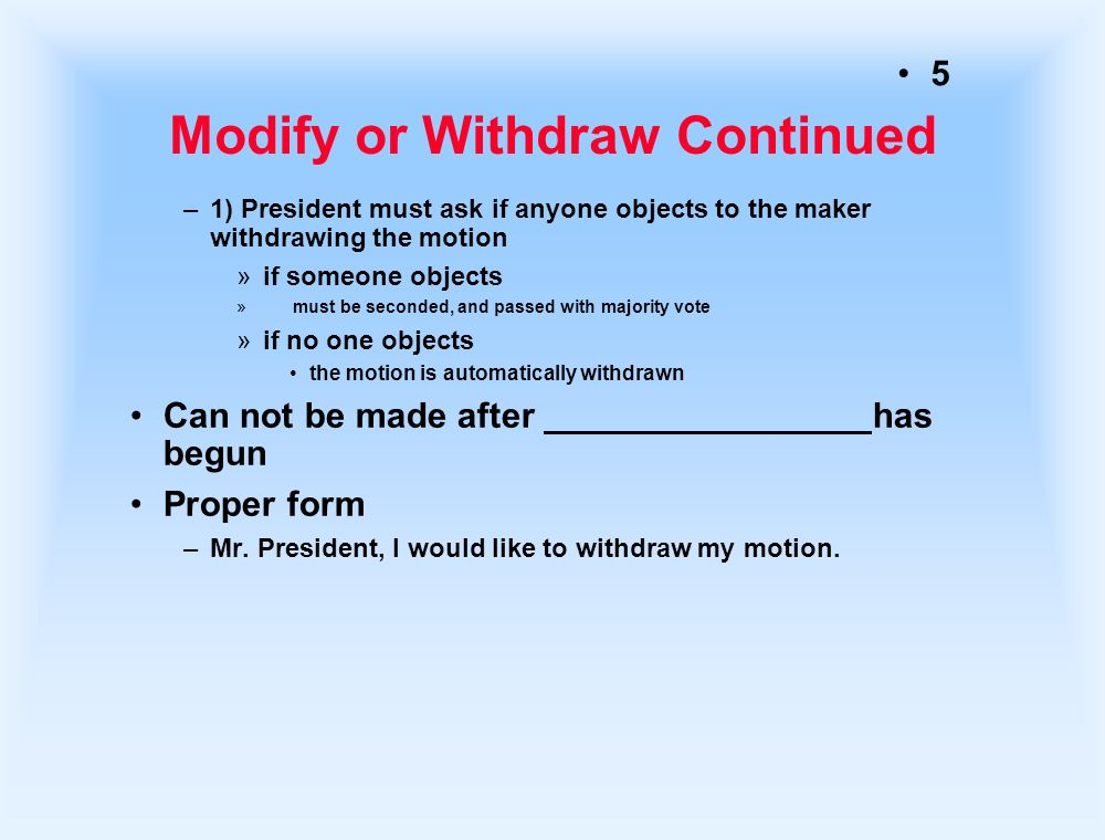 1 Incidental Motions Motions Relating To The Pending
