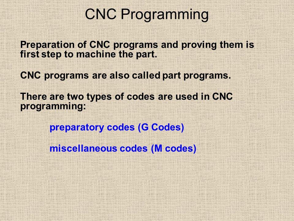 4 basic cnc programming milling.
