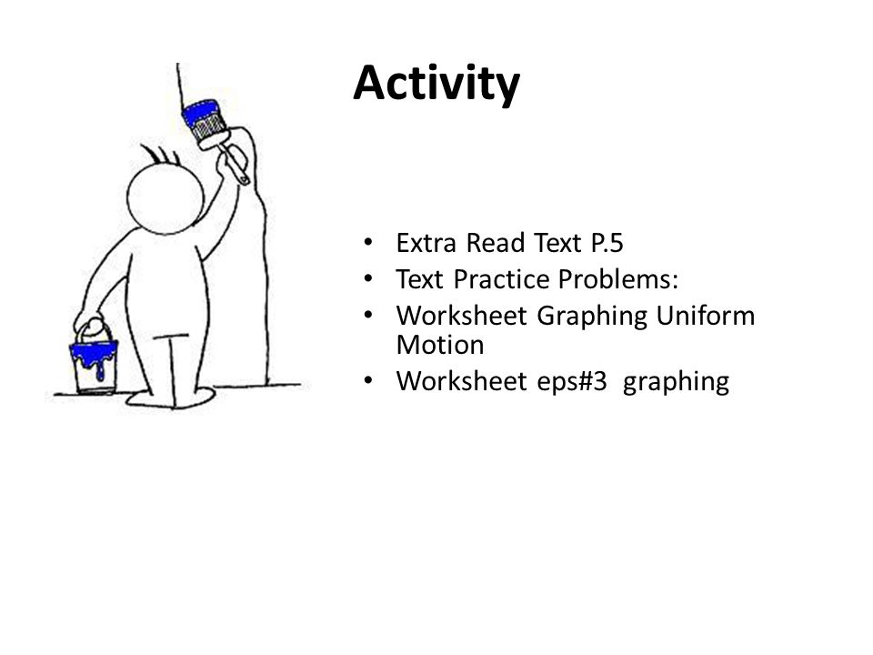 SCIENCE 1206 Unit 3 Physical Science – Motion. Required items for ...