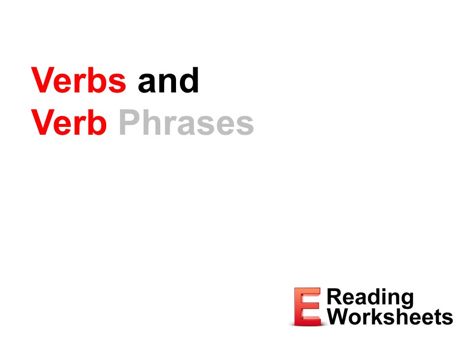 Verbs And Verb Phrases Expresses An Action Or A State Of Being. 1 Verbs And Verb Phrases. Worksheet. Verb Phrases Worksheet At Mspartners.co