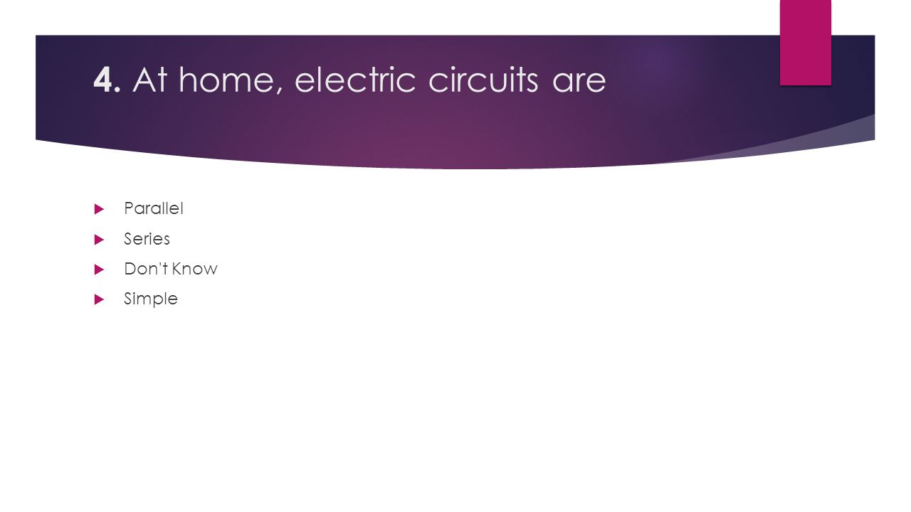 Series And Parallel Circuits Click For Video In 6 4 At Home Electric Are