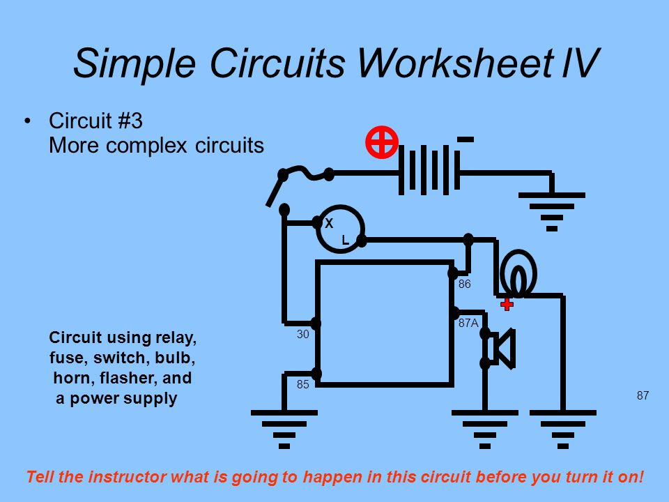 Simple Circuits You build the following circuits. - ppt download