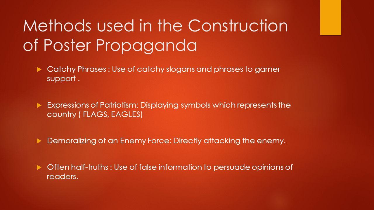 World War I Propaganda Definition Propaganda Information Or