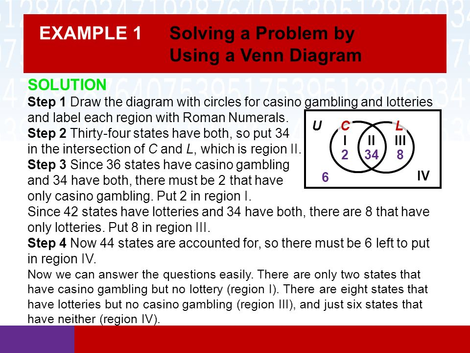 Section 24 Using Sets To Solve Problems Math In Our World Ppt