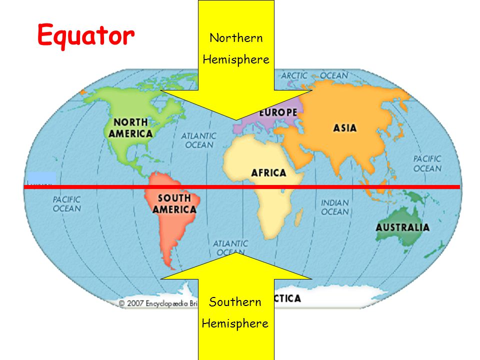 Wonderful 6 Northern Hemisphere Southern Hemisphere Equator