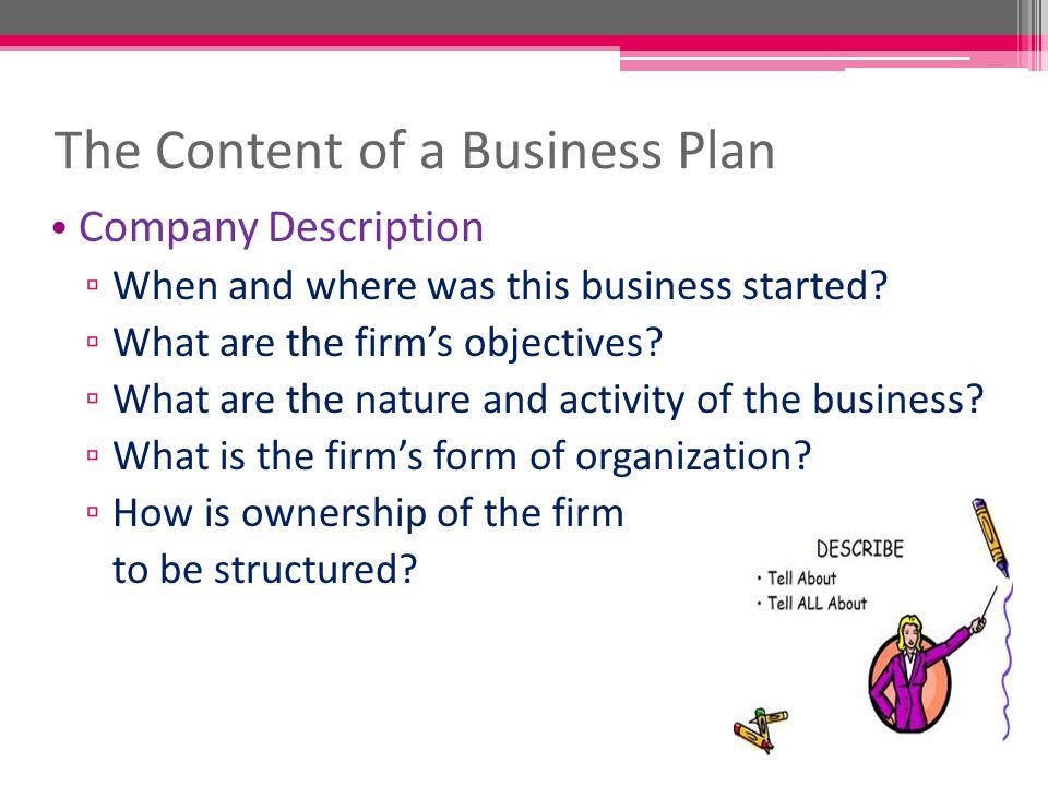 BP – Project Planning (D) Lim Sei cK. Business Plan Outline Section ...