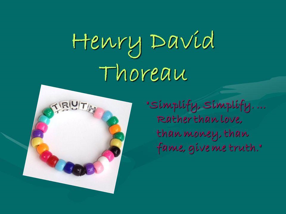 Authors Quotes Sample Henry David Thoreau Simplify Simplify