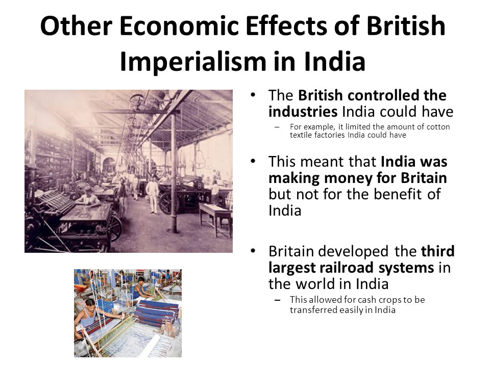 effects of british colonialism in india