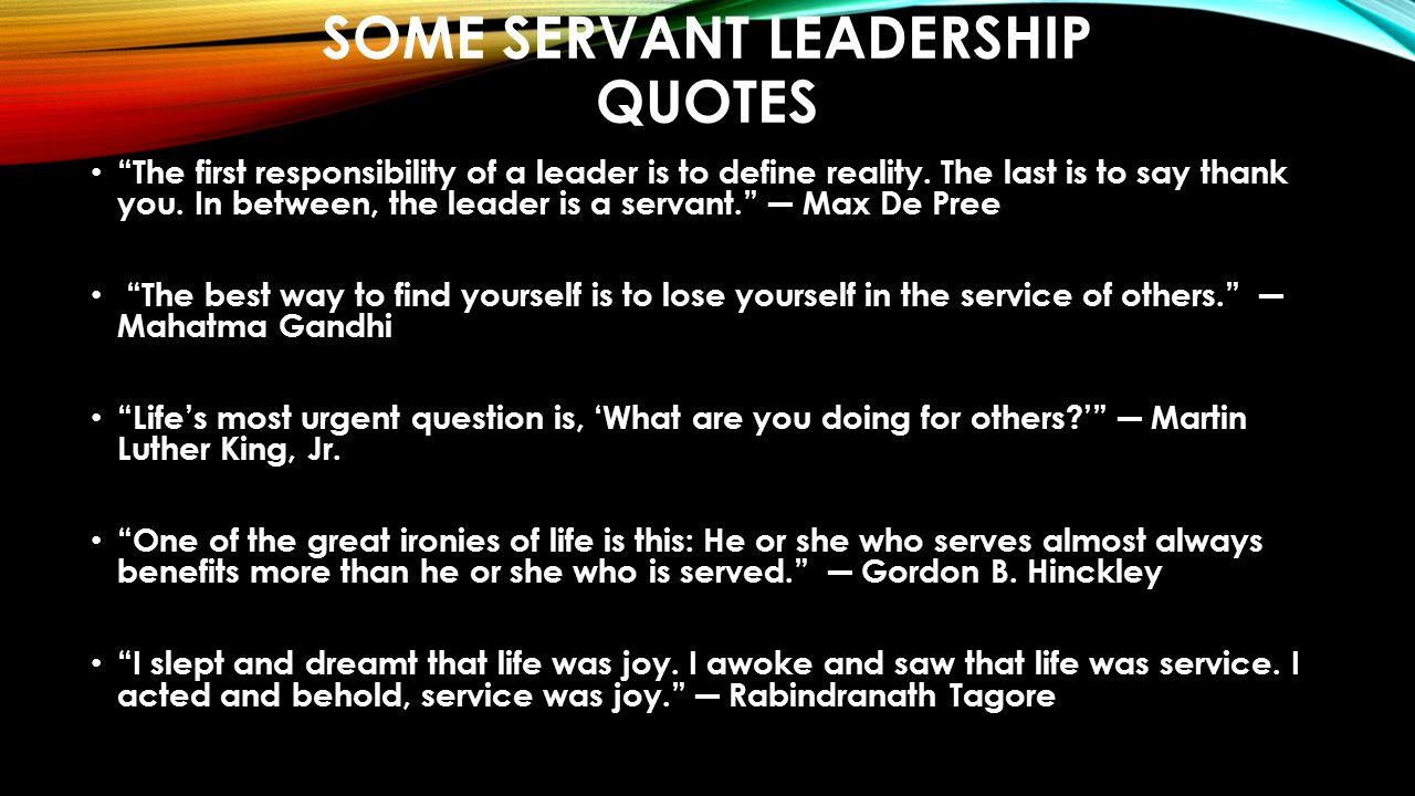 SERVANT LEADERSHIP FOR LIBRARY EFFECTIVENESS HOW THE BEST ...