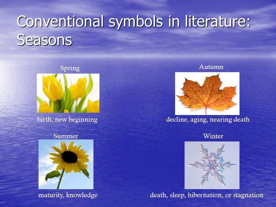 conventional symbols in literature