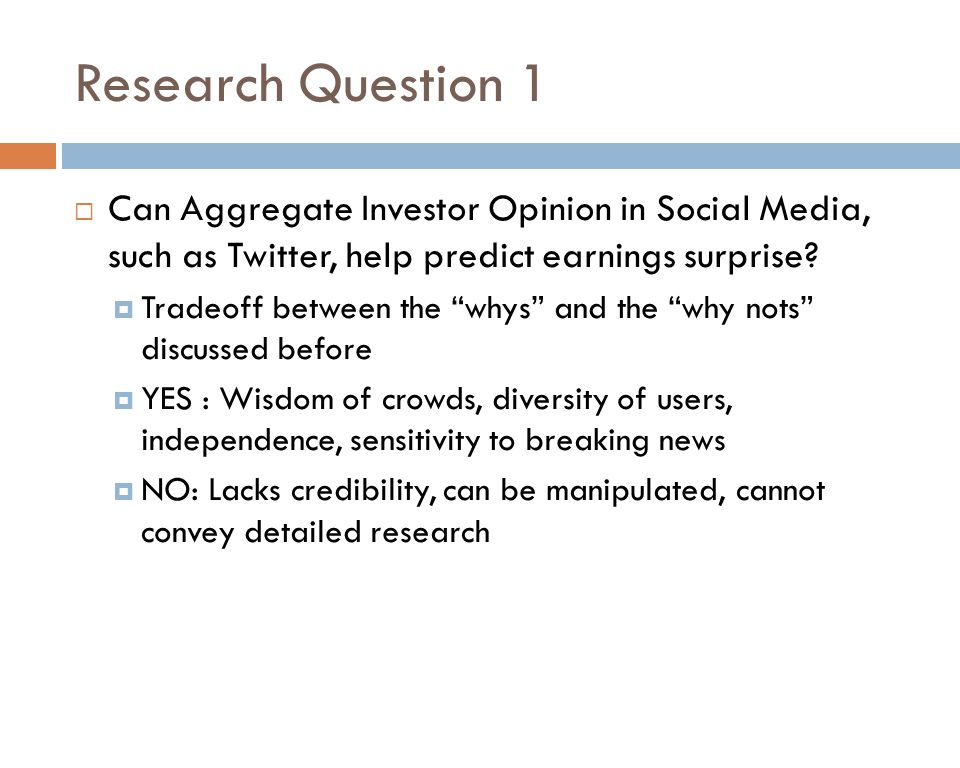 CAN TWITTER HELP PREDICT FIRM-LEVEL EARNINGS AND STOCK RETURNS? Eli