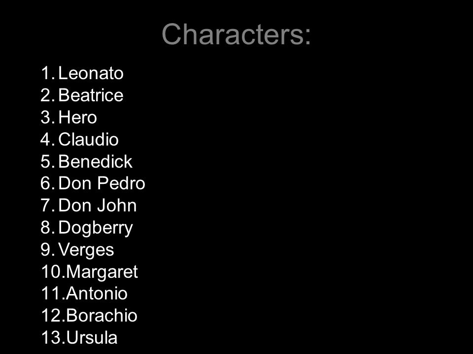 dogberry character analysis