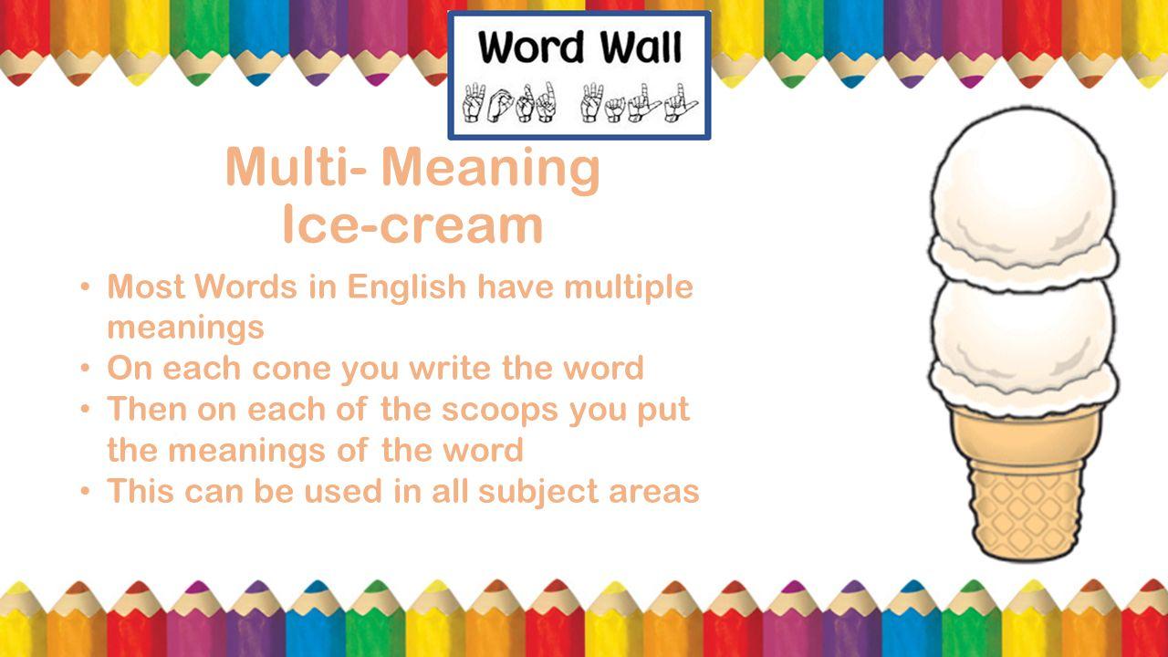 Vocabulary A Presentation by Elizabeth Andrade, Savannah