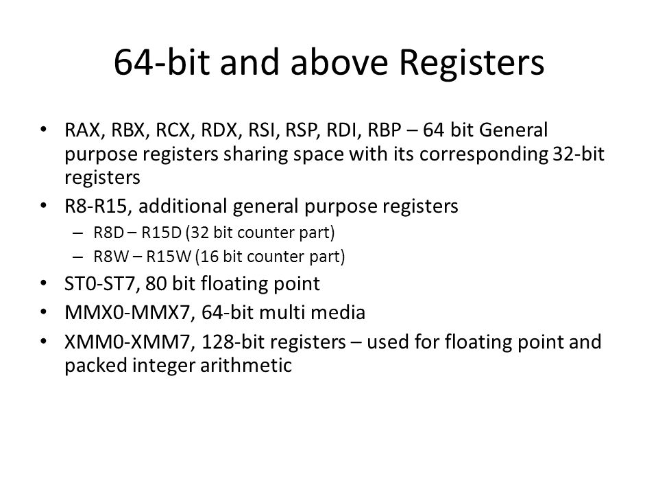 Information Security - 2  CISC Vs RISC X86 is CISC while ARM