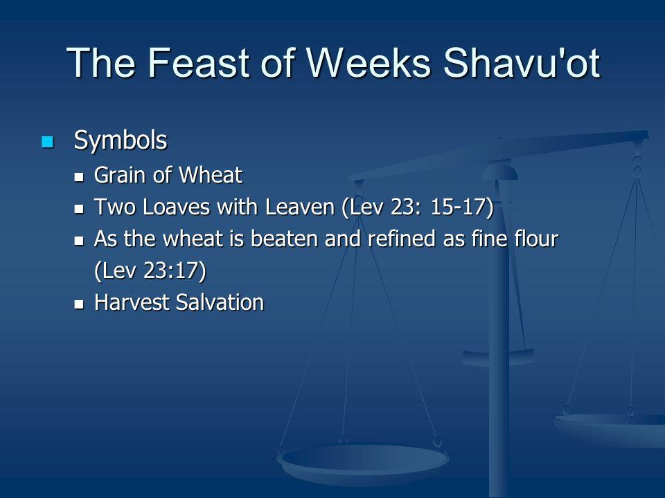 Seven Sabbaths Part 3 The Feast Of Weeks First Fruits Pentecost