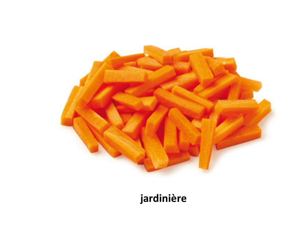 Vegetables And Cuts Of Vegetables Cuts Of Vegetables Macedoine