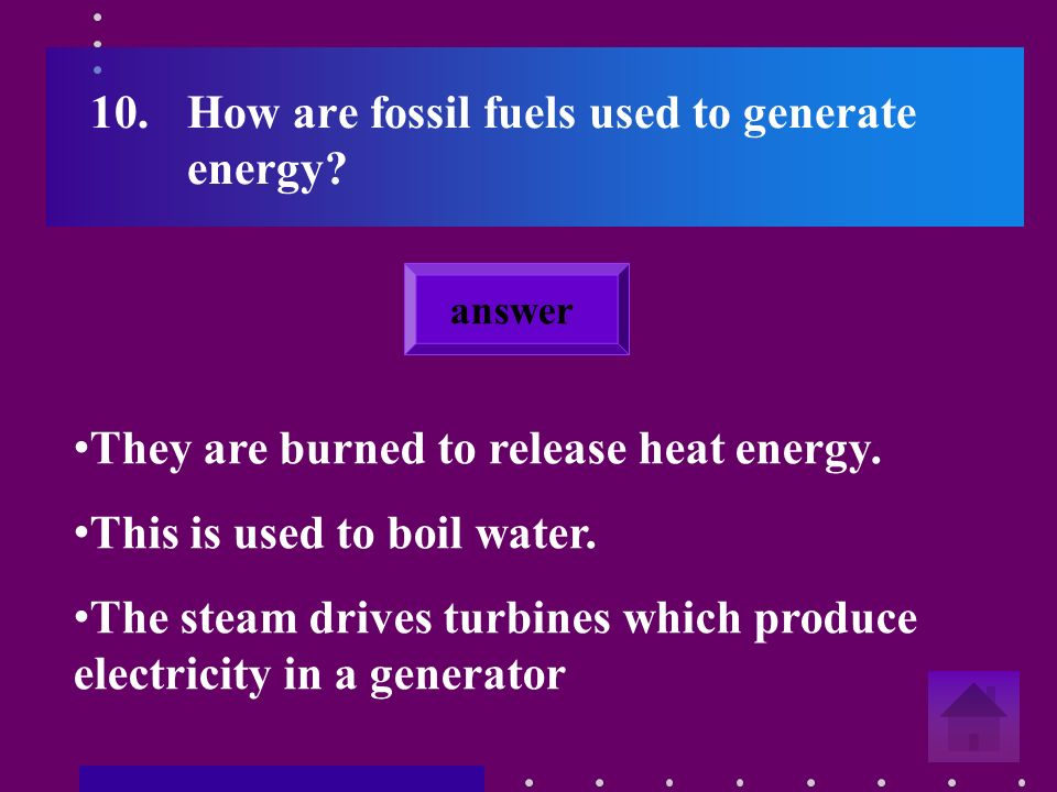 9.What is a fossil fuel.