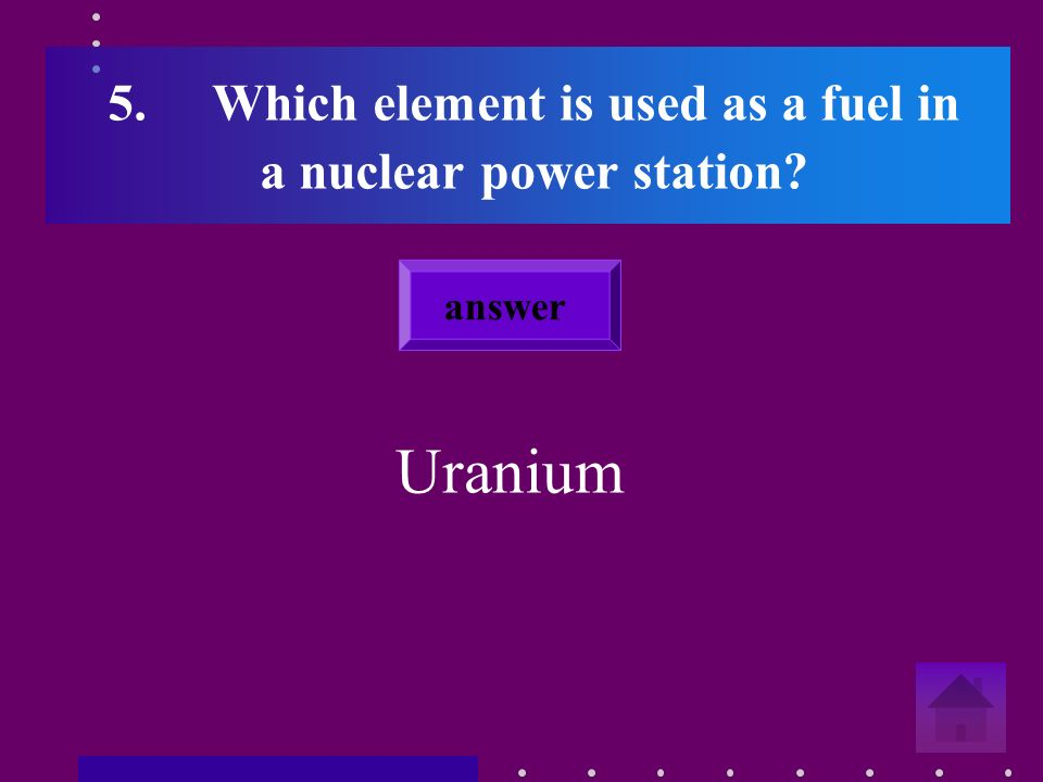4. Name some possible environmental effects of nuclear power.