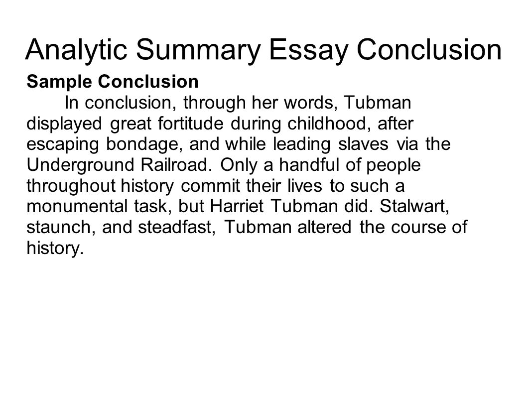 How to Write a Conclusion for an Essay