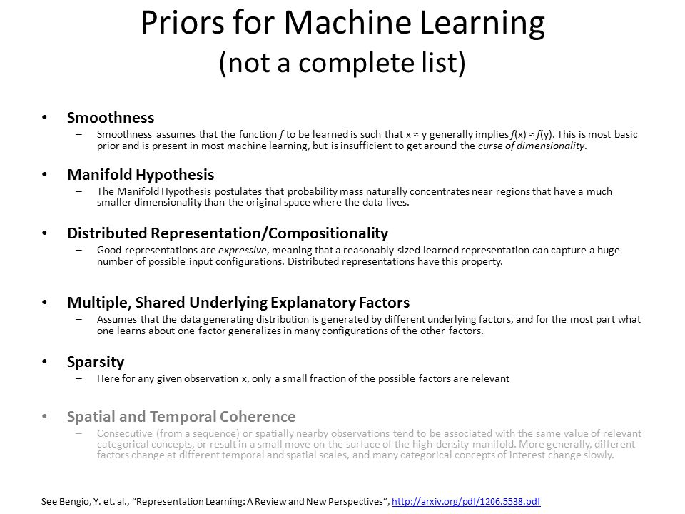 Machine Learning Study Group David Meyer ppt download