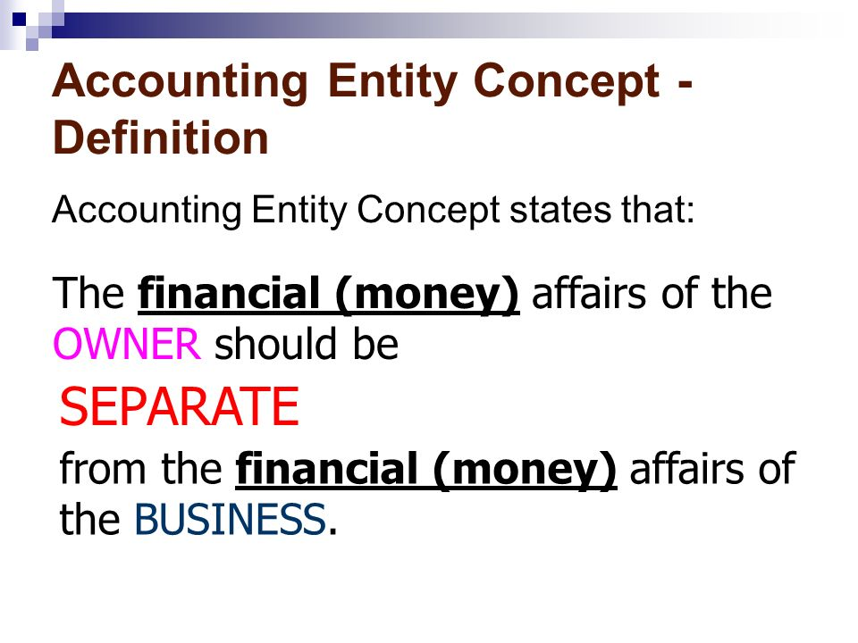 Year 11 Accounting Accounting Concepts  Reference Page 17 of the