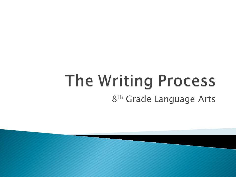 8 Th Grade Language Arts Focusing Pre Writing