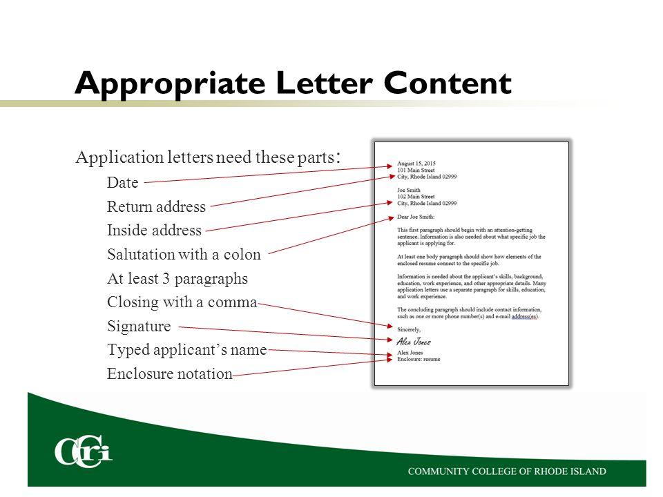 Job Application Letters Dr Karen Petit Process Of Getting A An