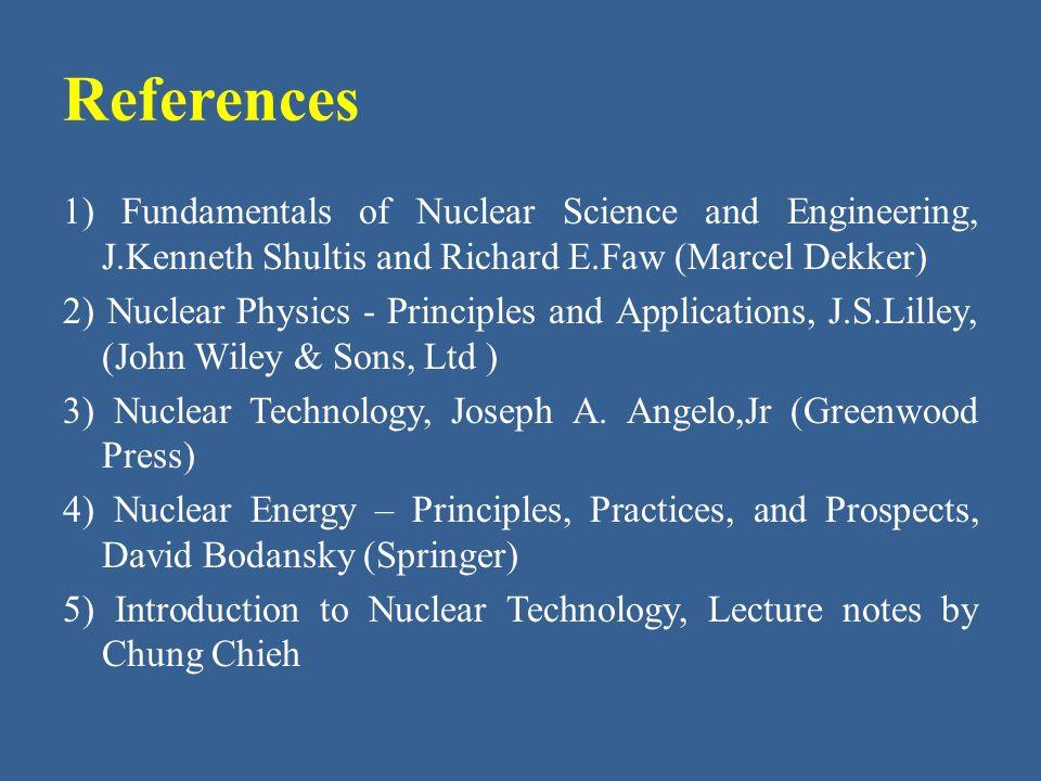复旦大学核科学与技术系 沈皓 Introduction to Nuclear