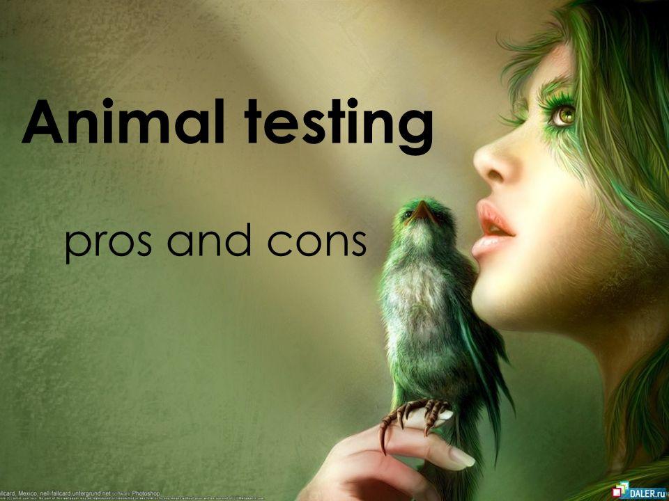 animal testing cons
