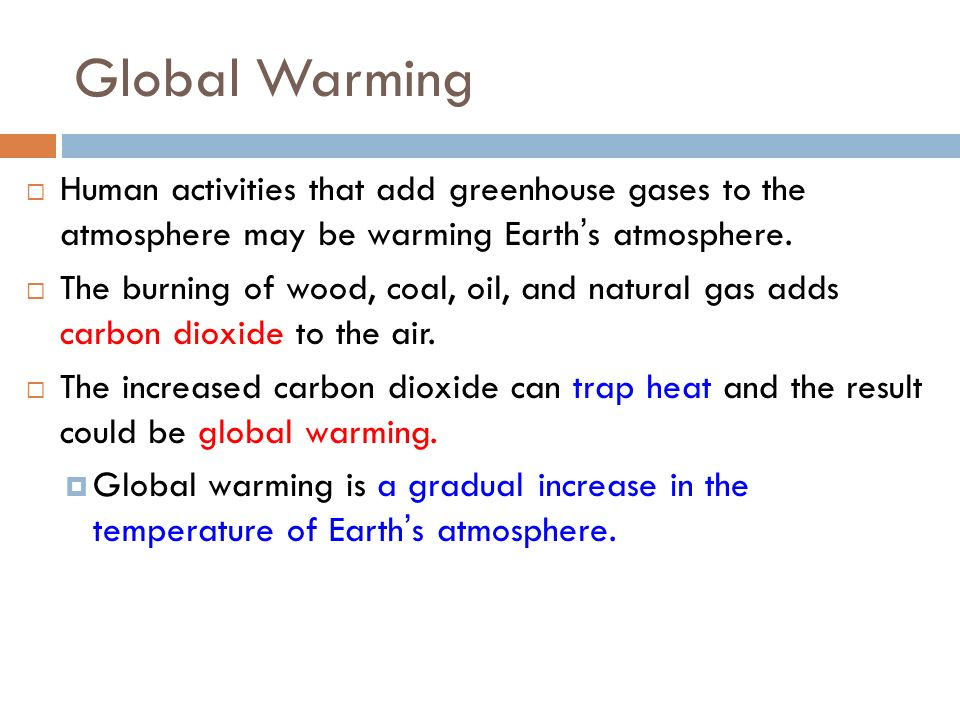 What does the Greenhouse Effect do.