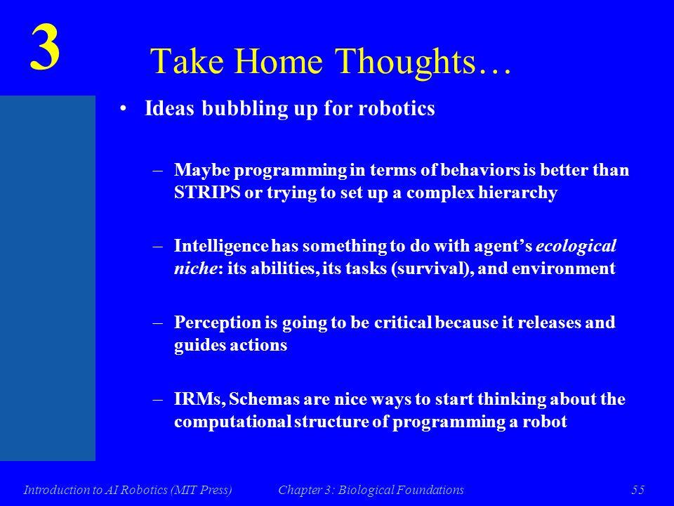 3 Introduction to AI Robotics (MIT Press)Chapter 3