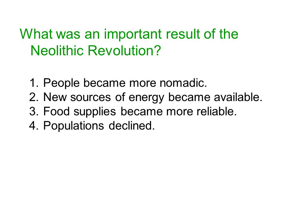 significance of neolithic revolution