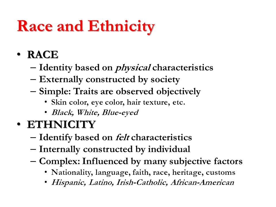 racial and ethnic identity Sport participation and the effect on one's identity this is an excerpt from race, ethnicity, and leisure by monika stodolska, kimberly shinew, myron floyd, and gordon walker.